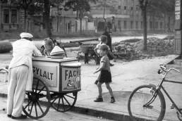 1959. Szeged, Kálvária sugárút - Londoni körút sarok.
