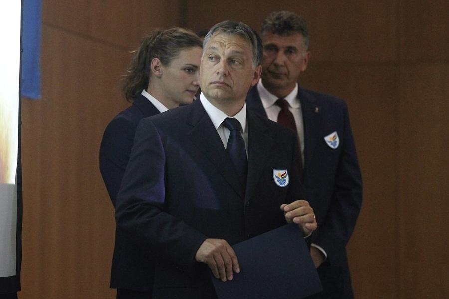 Szabó Bence; Orbán Viktor; Hosszú Katinka