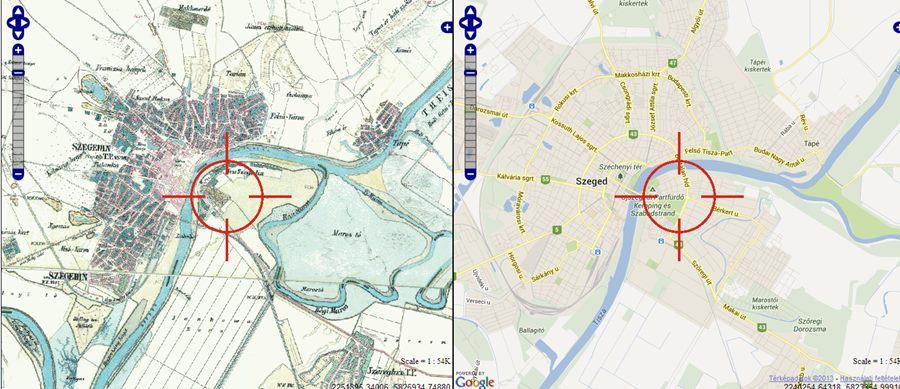 Szegedi Idoutazas Egy Katonai Terkepen Szeged Ma Tenyek Es