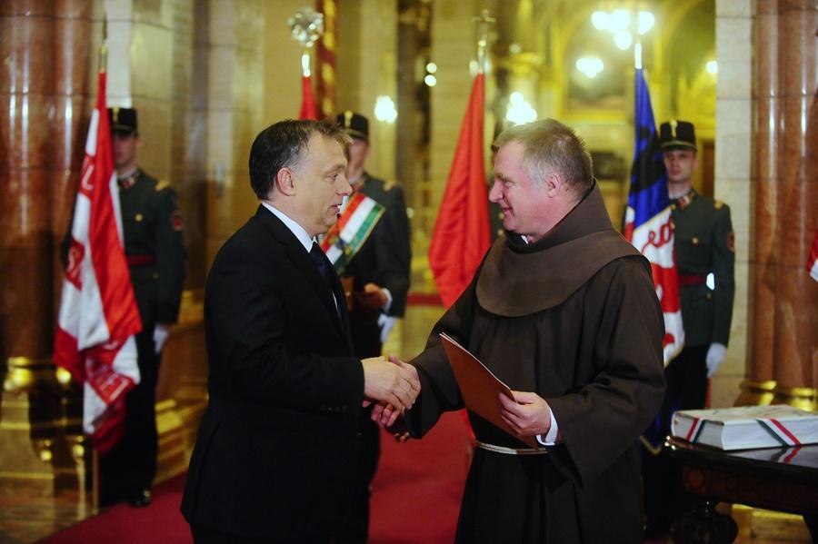 Orbán Viktor; Böjte, Csaba
