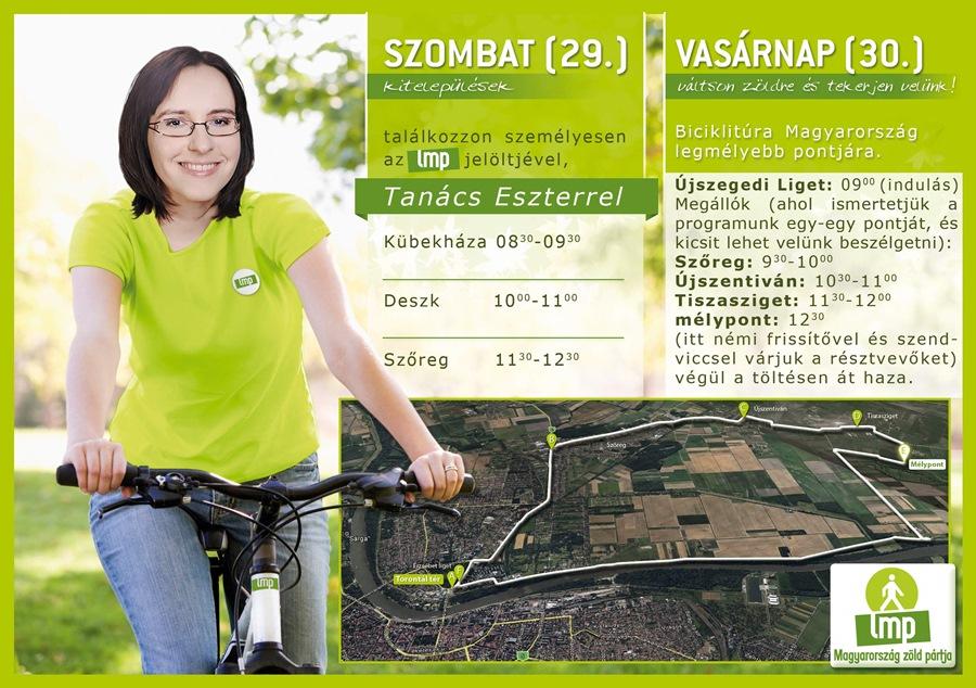 Tanács_Eszter_hétvégi_körút_biciklitúra_plakát
