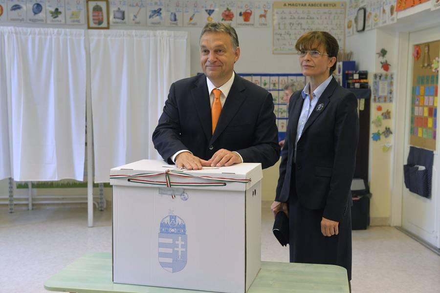 Lévai Anikó; Orbán Viktor
