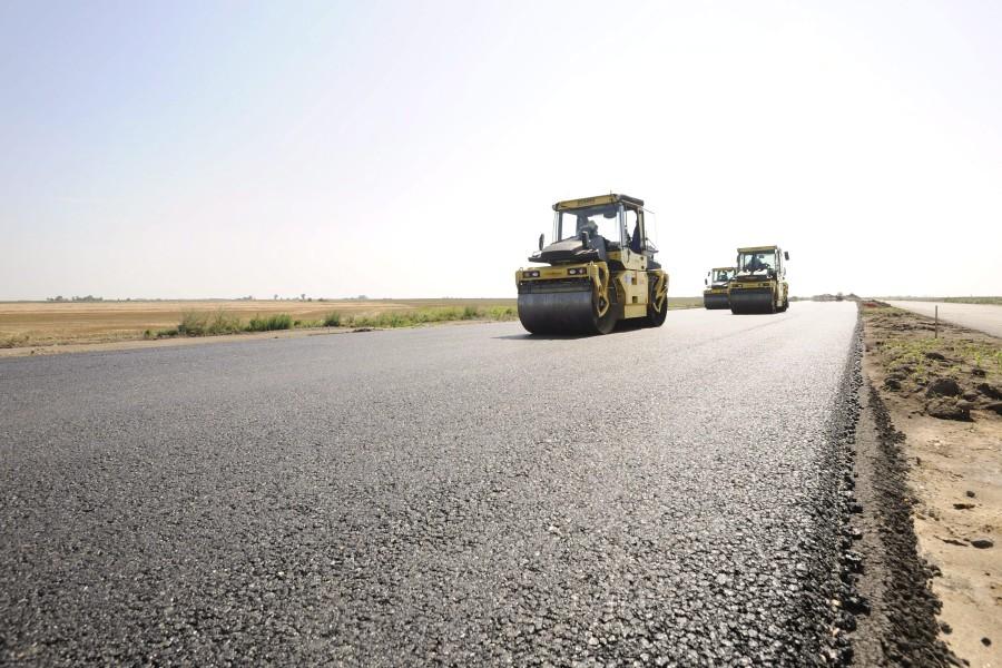 Épül az M43-as autópálya országhatárig tartó szakasza