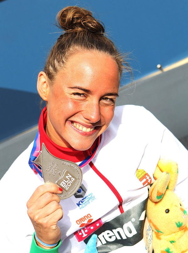 Úszó Eb - Olasz Anna ezüstérmes 25 kilométeren