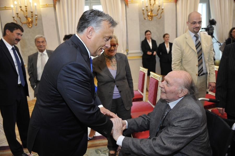 Áder János; Orbán Viktor; Kertész Imre