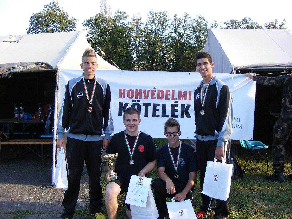 2014.10.21. Honvédelmi Kötelék verseny CsM-i döntő a csapat