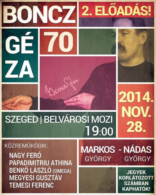 Boncz_Geza_70_plakat