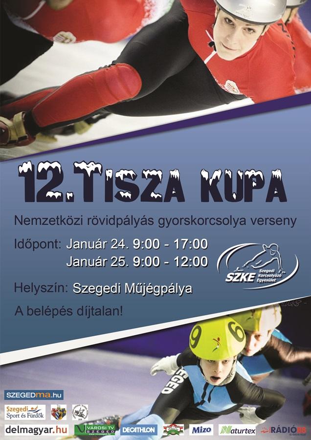 12. Tisza Kupa plakát