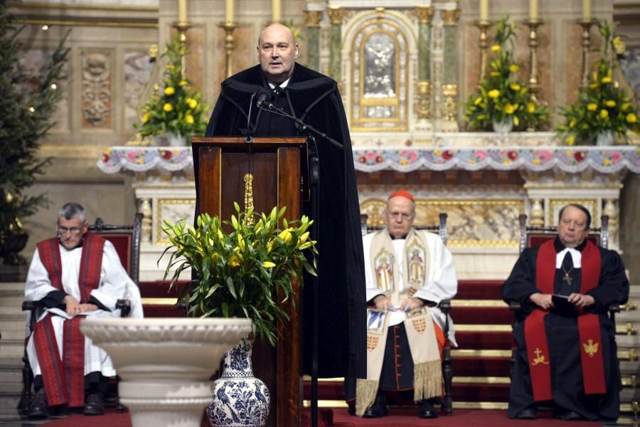 Steinbach József; Hegedûs, Frank; Gáncs Péter; Erdõ Péter