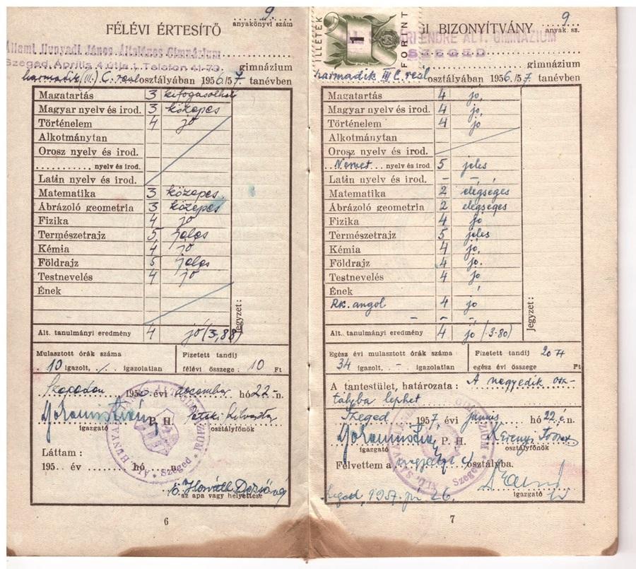 1956-57 SágváriGimn-HunyadiGimn
