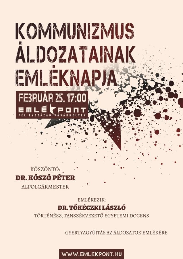 Kommunizmus_Aldozatainak_Emleknapja-Emlekpont_20150225--PLAKAT