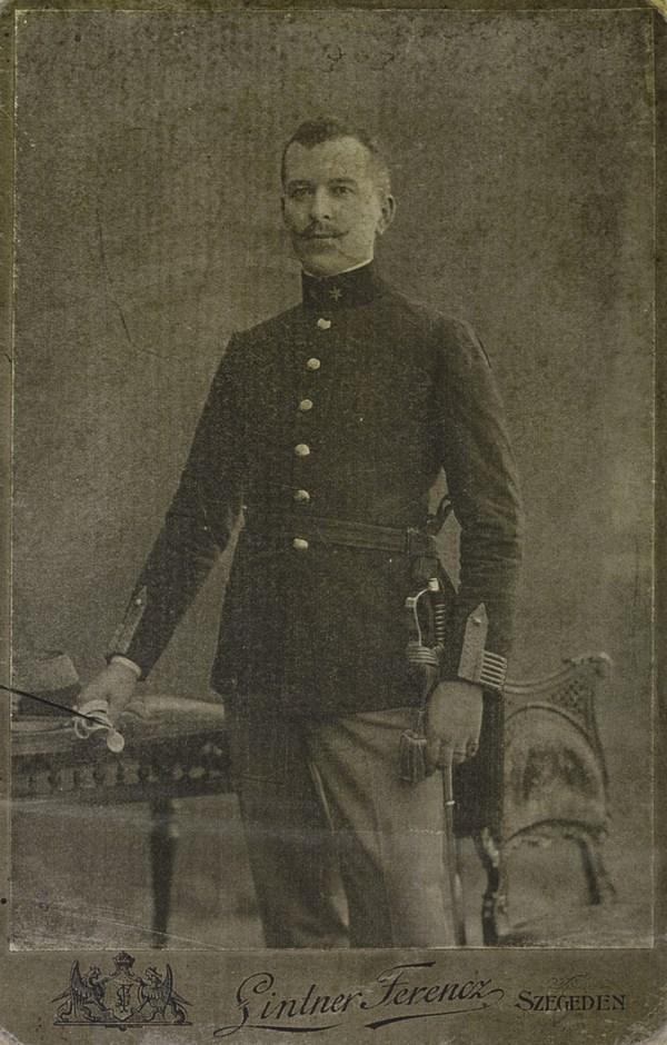 Kecskés István fiatalkori képe