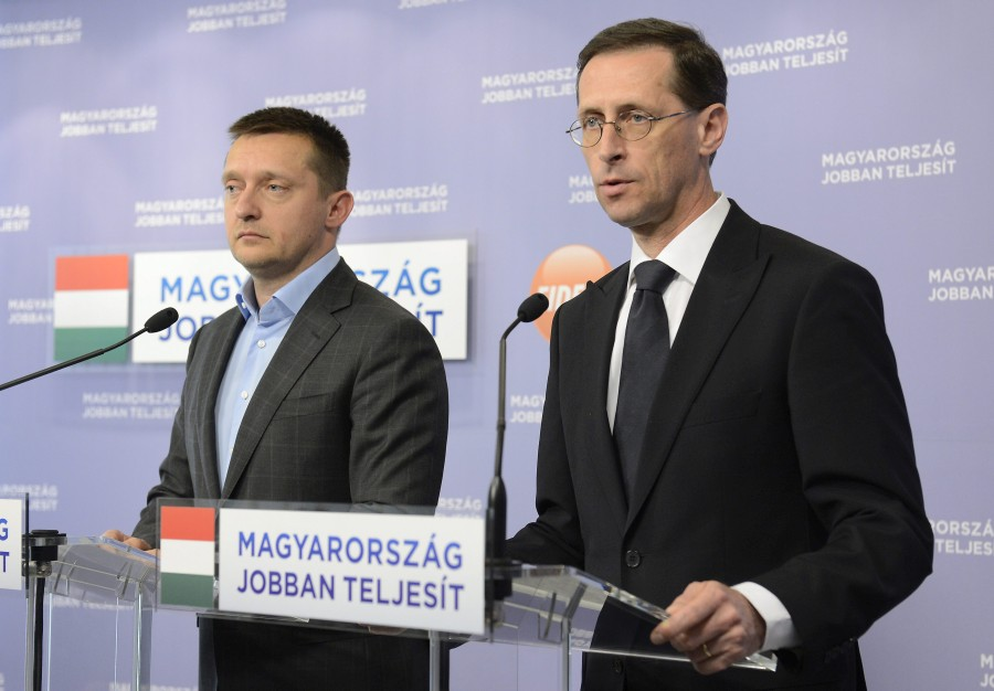 Varga Mihály; Rogán Antal