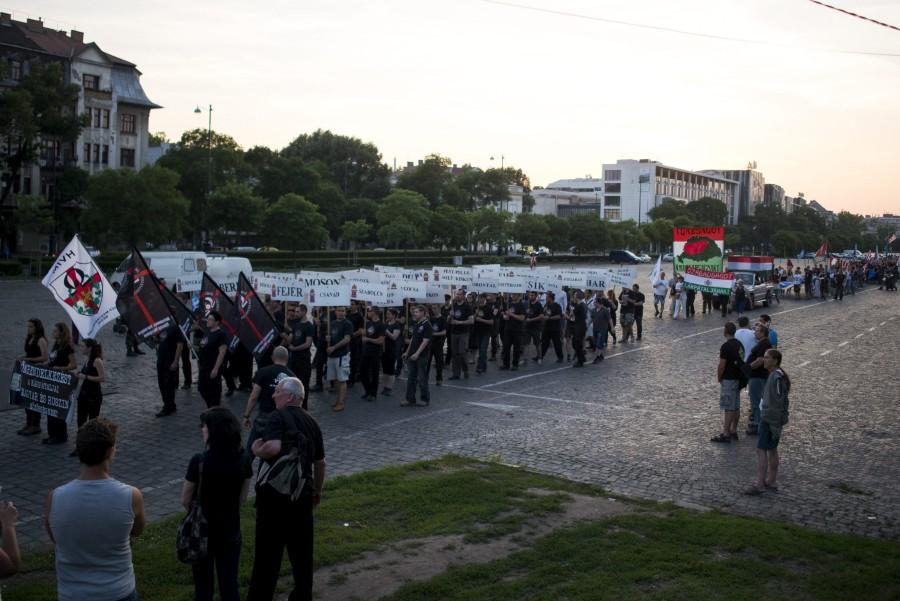A Hatvannégy Vármegye Ifjúsági Mozgalom Trianon-felvonulása