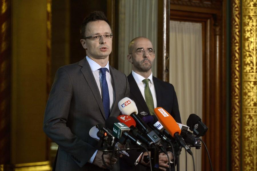 Kovács Zoltán; Pintér Sándor; Szijjártó Péter