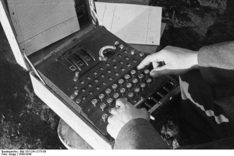 Russland, Verschlüsselungsgerät Enigma