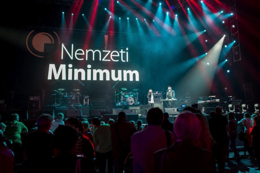 Nemzeti Minimum-koncert az Arénában