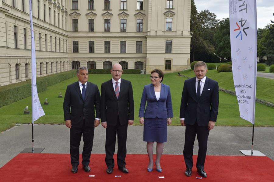Orbán Viktor; KOPACZ, Ewa; SOBOTKA, Bohuslav; FICO, Robert