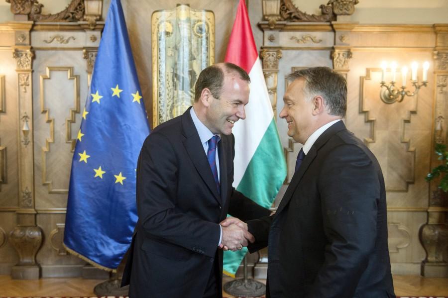Orbán Viktor; WEBER, Manfred