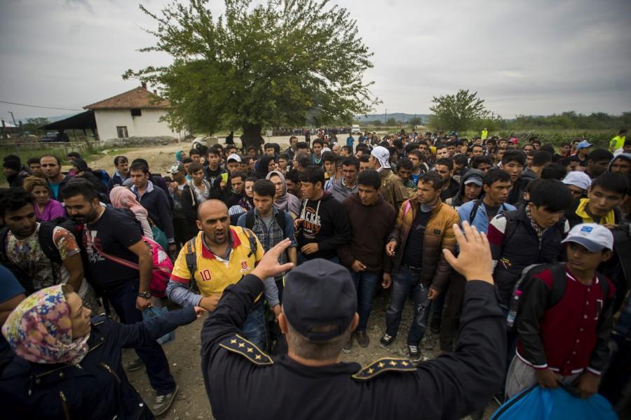 Illegális bevándorlás - Migránsok Macedóniában