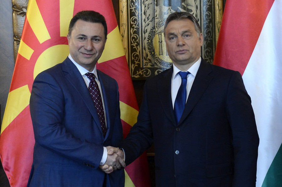 Orbán Viktor; GRUEVSZKI, Nikola