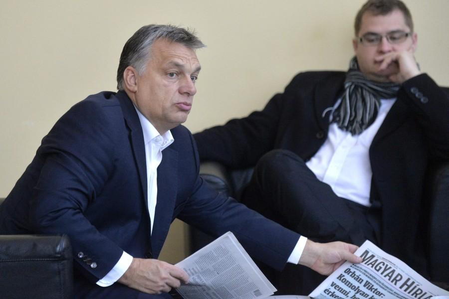 Nagy János; Orbán Viktor