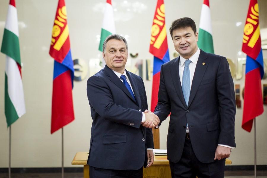 SZAIKHANBILEG, Csimedín; Orbán Viktor