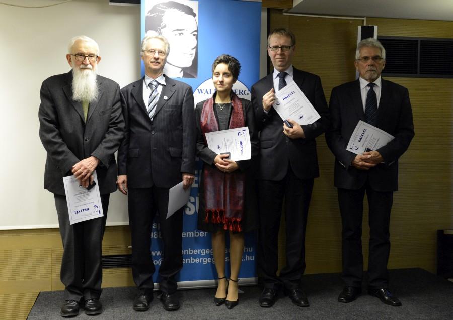 Mikulás Ferenc; Wallenberg, Raoul; Sipos András; Komoróczy Géza