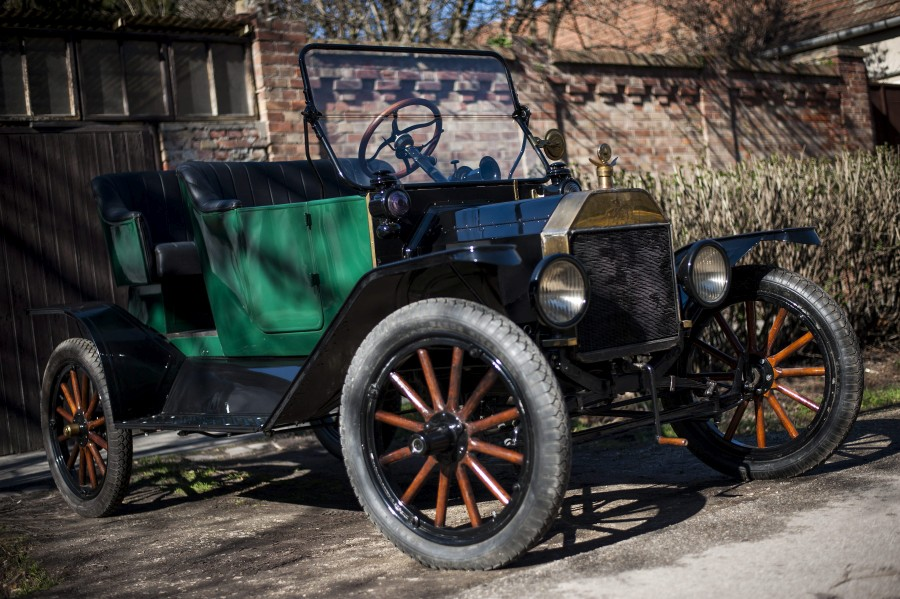 Ford T-modell Szegeden