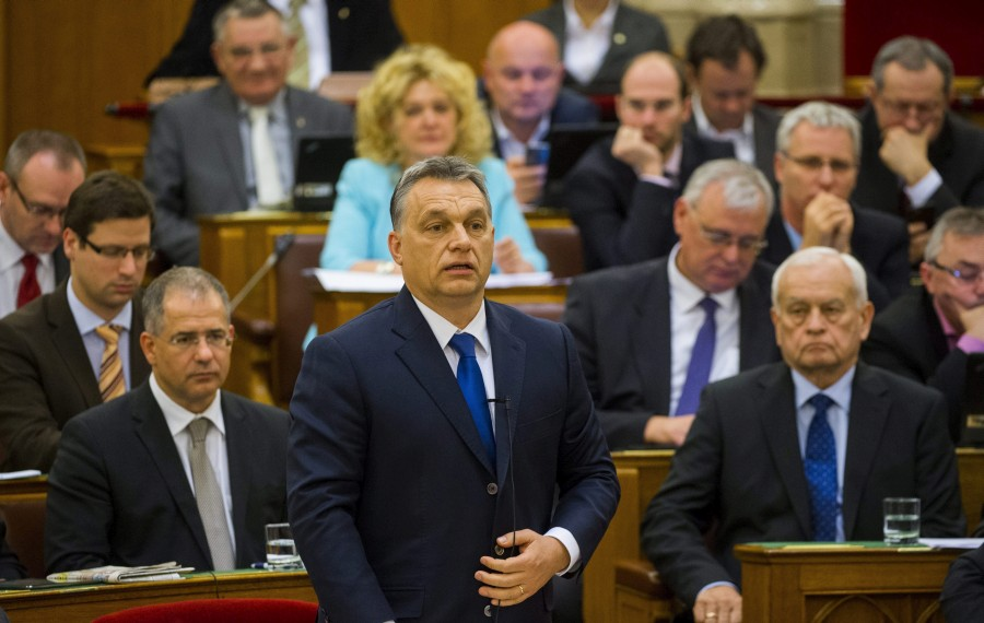 Kósa Lajos; Harrach Péter; Orbán Viktor