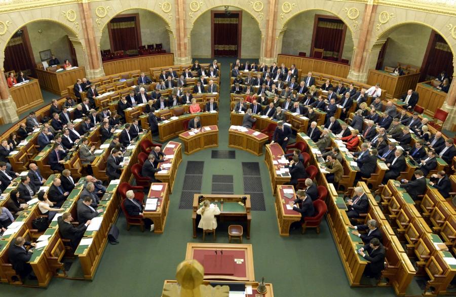 Az Országgyûlés plenáris ülése