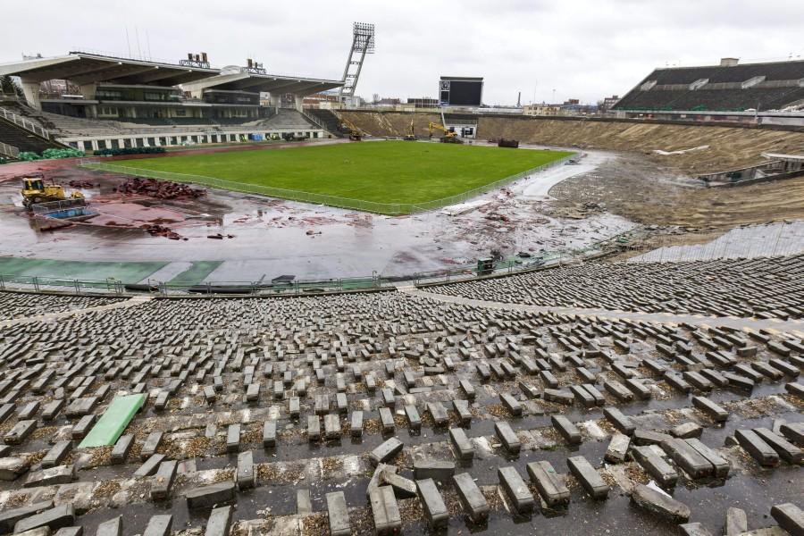 Bontják a Puskás Ferenc Stadiont