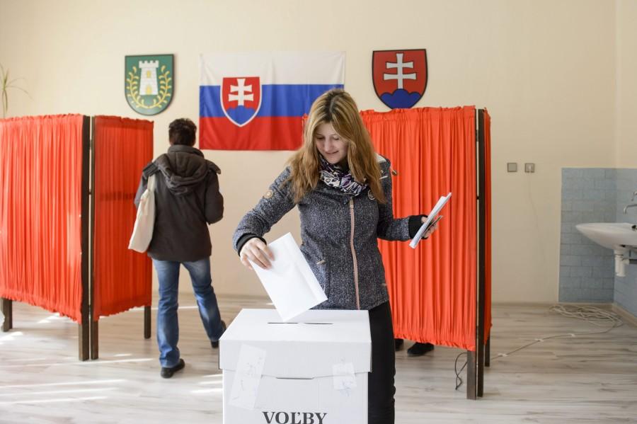 Szlovákiai választás - Óbást