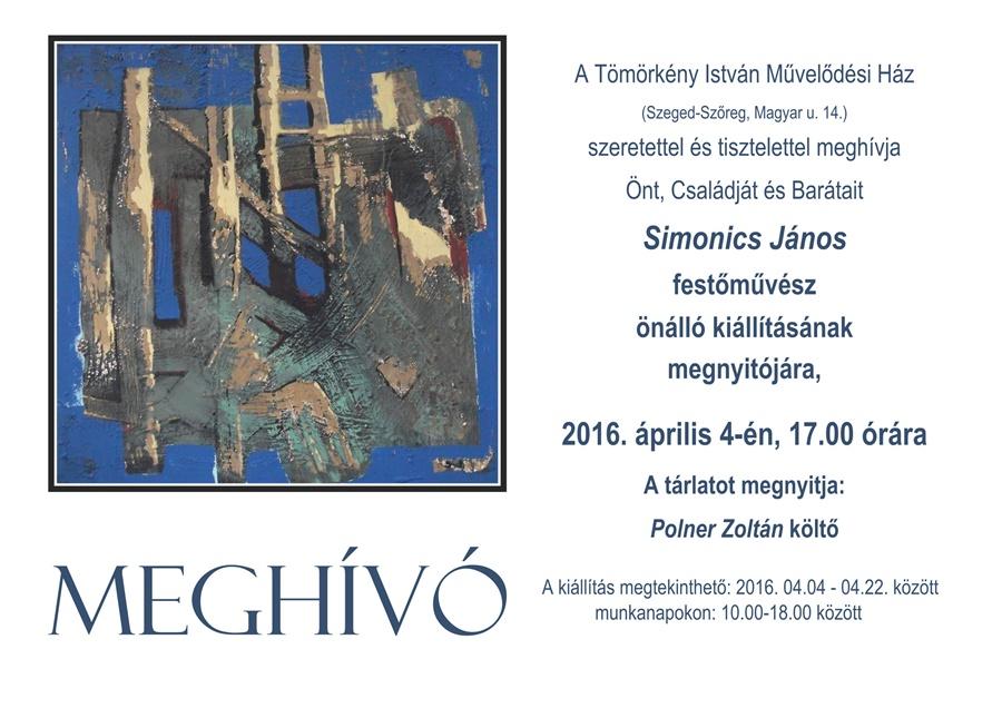 Simonics János kiállítás