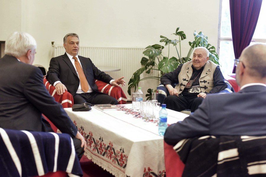 Kelemen Hunor; Orbán Viktor; Kallós Zoltán