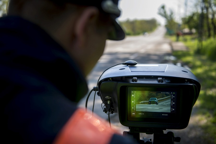 Huszonnégy órás sebességellenõrzési akció Európában