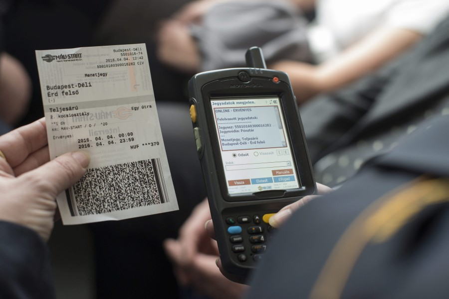Az új vasúti jegyértékesítési rendszer