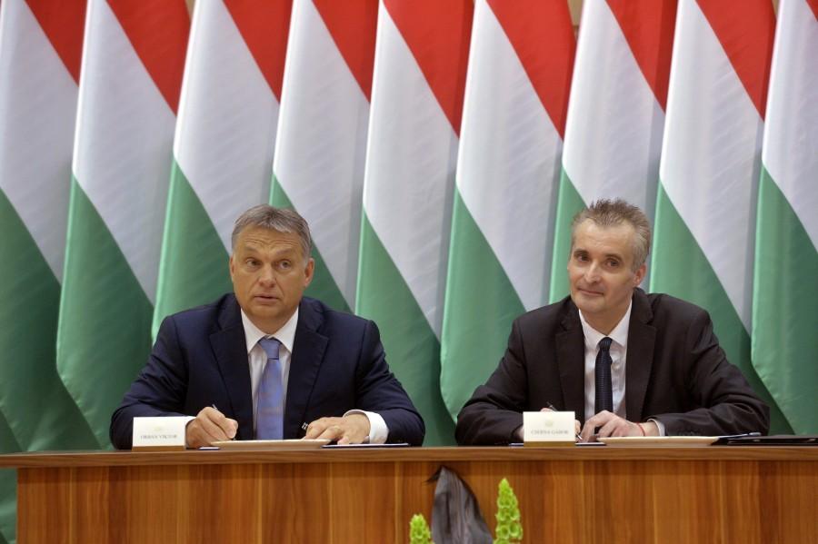 Orbán Viktor; Cserna Gábor