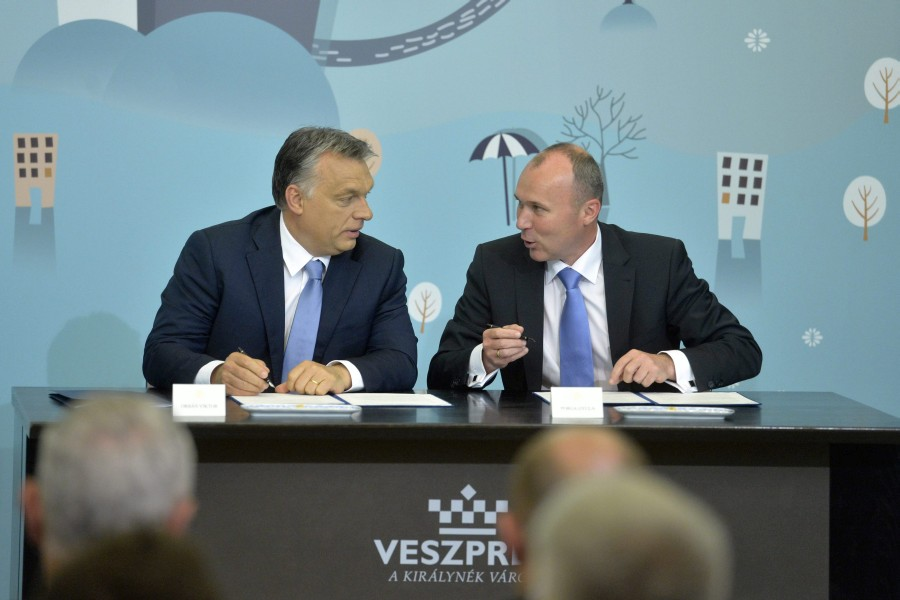 Porga Gyula; Orbán Viktor