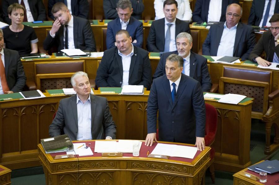 Halász János; Németh Szilárd; Orbán Viktor; Semjén Zsolt
