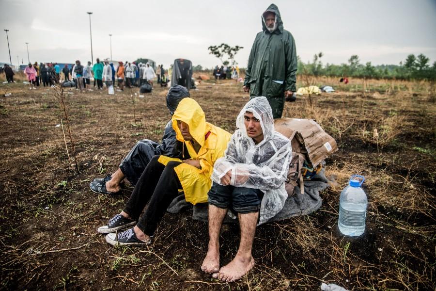 Illegális bevándorlás - Éhségsztrájkot folytató migránso