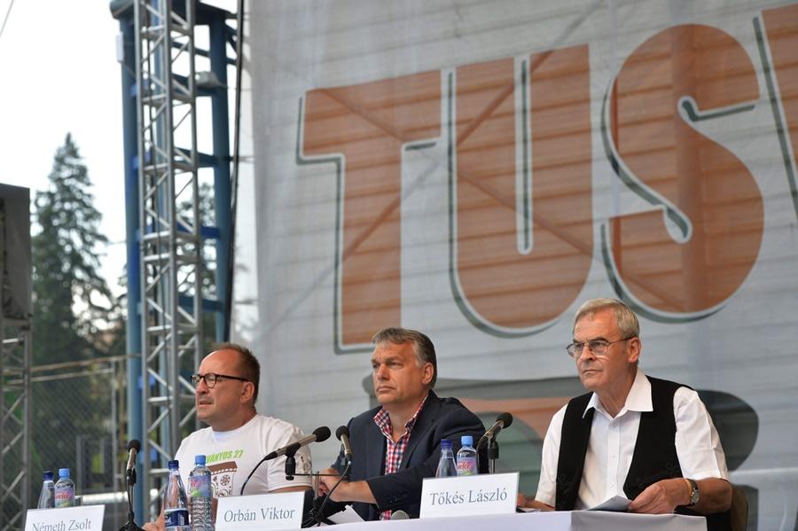 Németh Zsolt; Tõkés László; Orbán Viktor