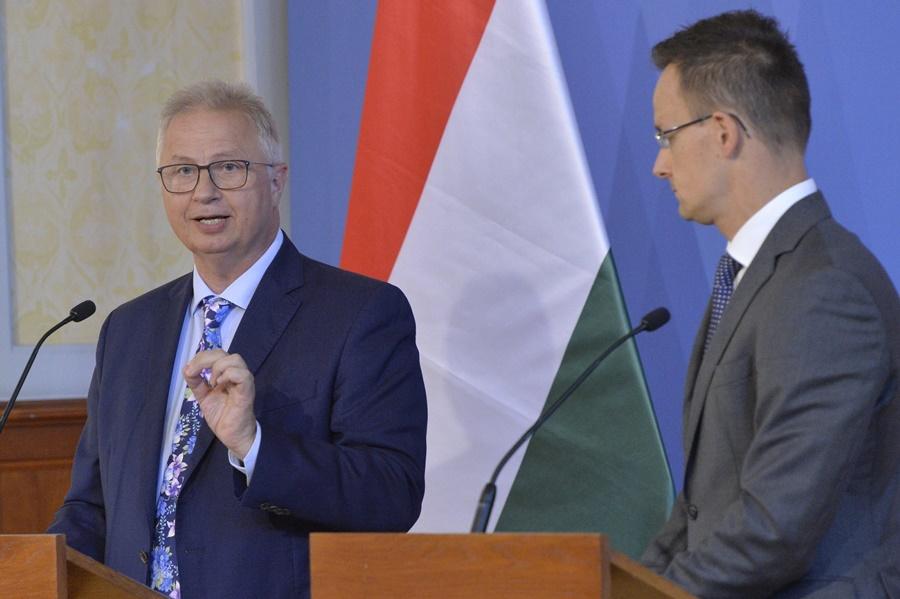 Trócsányi László; Áder János; Szijjártó Péter
