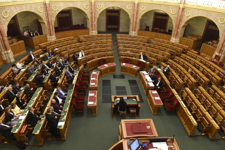 Az Országgyûlés rendkívüli plenáris ülése