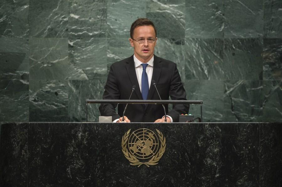 Szijjártó Péter; General Debate. HUNGARY
