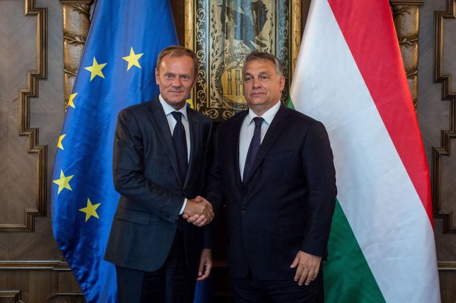 TUSK, Donald; Orbán Viktor