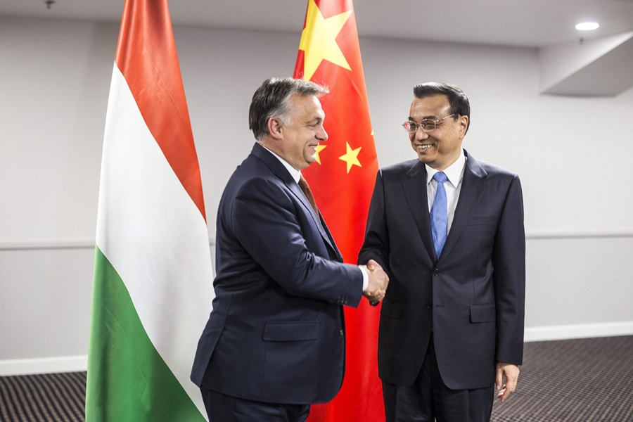 Orbán Viktor; LI Ko-csiang