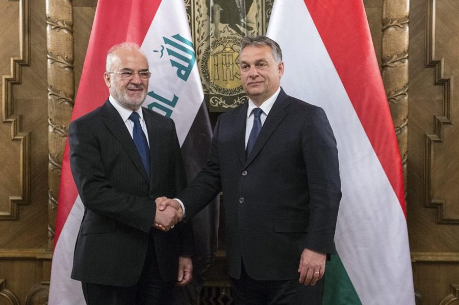 DZSAAFARI, Ibráhim al-; Orbán Viktor