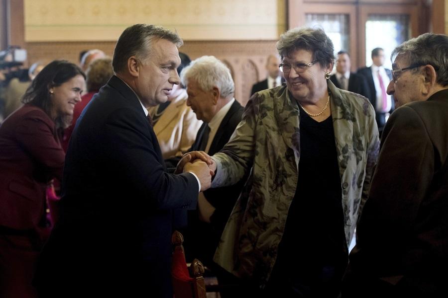 Novák Katalin; Orbán Viktor