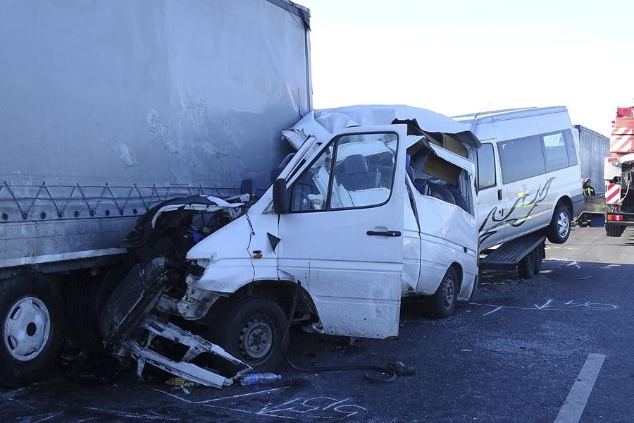 Halálos baleset az M43-as autópályán
